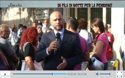 Inps pensioni Antonio condorelli La7