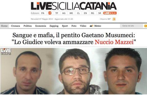Nuccio Mazzei mafioso livesiciliacatania