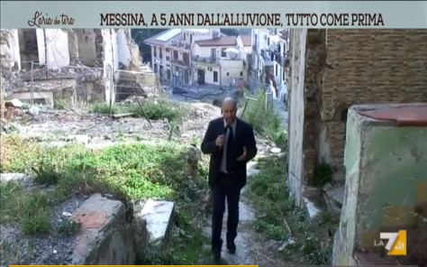Antonio Condorelli giornalista La7 Giampilieri