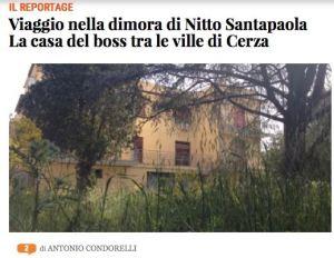 Nitto Santapaola casa