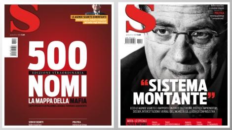 """Mensile """"S"""" copertine S 109 mafia montante"""